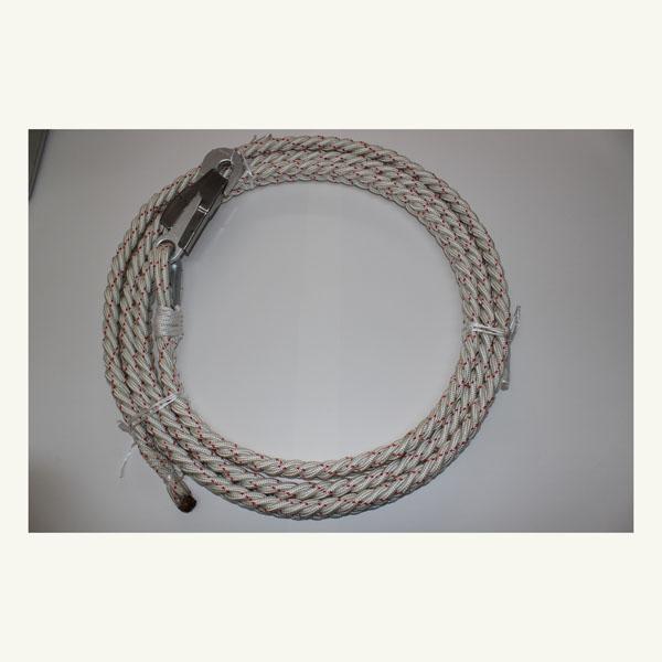 Cuerda para poda de palmeras acero especial sin mordaza