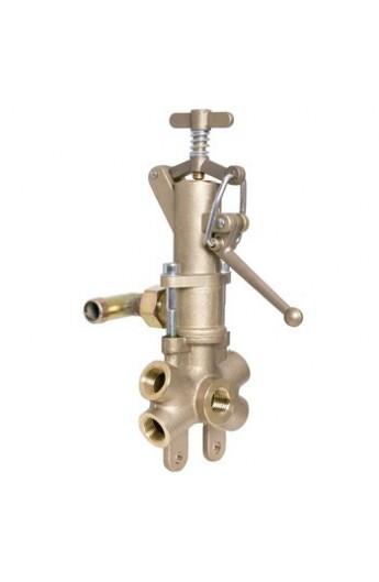 Regulador de presión Vulkollan con palmera