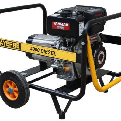 Generadores Diesel 3000 r.p.m. Motor YANMAR 6000 D