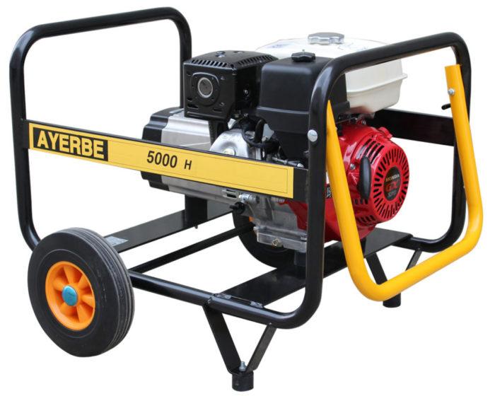 Generadores Gasolina 3000 r.p.m. Motor HONDA 5000 – H – MN · Manual